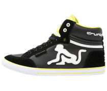 BOSTON CLASSIC Sneaker high black/lime