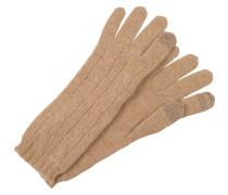Fingerhandschuh - camel melange