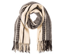 Schal - beige/black