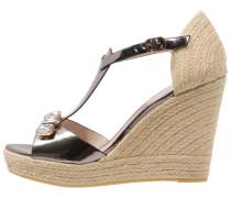 High Heel Sandaletten piombo