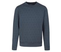 TILL ETHNO Sweatshirt blueberry blue