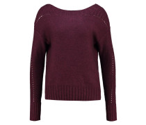 Strickpullover tuscan red