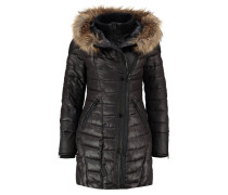 ALBIA - Wintermantel - black