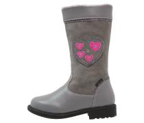 Stiefel grey/rosa
