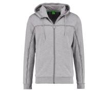 SAGGY MODERN FIT - Strickjacke - mottled grey