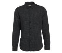 BUTTON DOWN REGULAR FIT - Hemd - black