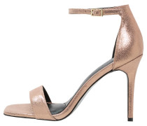High Heel Sandaletten - metallic
