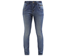 HOXTON Jeans Relaxed Fit blue denim