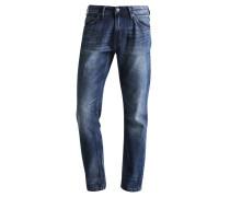 ATWOOD - Jeans Straight Leg - mid stone wash denim