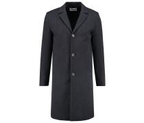 LUDWIG Wollmantel / klassischer Mantel grey