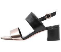 SEVAN - Riemensandalette - specchio/seta nero/assia multicolor
