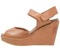 High Heel Sandaletten - light brown