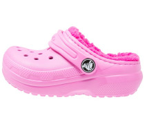 CLASSIC Pantolette flach party pink/candy pink