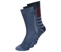 3 PACK Socken denim/navy/multi