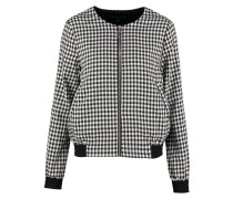 GINGHAM Bomberjacke black