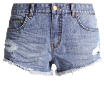 HIGHWAY - Jeans Shorts - beach blue