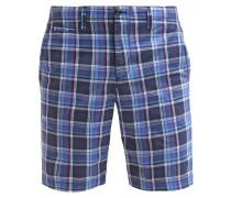 Shorts red blue plaid