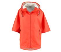 Regenjacke / wasserabweisende Jacke signal red