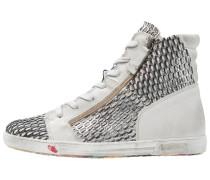 JOMAR - Sneaker high - black/silver
