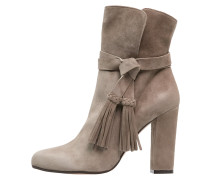High Heel Stiefelette taupe