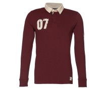 Poloshirt deep burgundy red