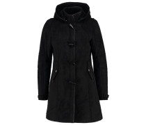 LIEKE Wollmantel / klassischer Mantel black