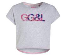 MIAMI - T-Shirt print - steel grey melange