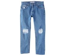 HARVEY - Jeans Straight Leg - medium blue