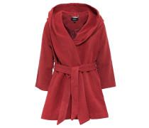 Wollmantel / klassischer Mantel ziegelrot