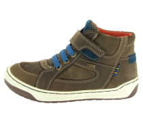 Sneaker high braun