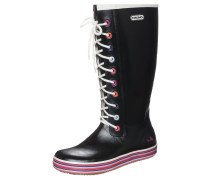 RETRO SPRINKLE Gummistiefel black