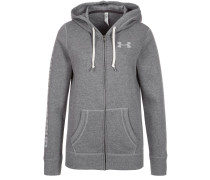 FAVORITE Sweatjacke carbon heather/white