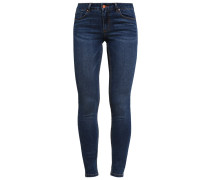 VICOMMIT Jeans Skinny Fit dark blue denim