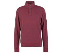 Sweatshirt dark red