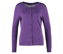 Strickjacke purple melange