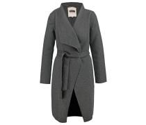 ALBA - Wollmantel / klassischer Mantel - dark grey melange