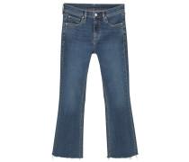 Flared Jeans dark blue