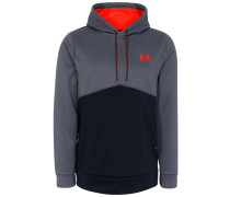 Sweatshirt - black/carbon heather/pheonix fire