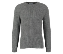 Strickpullover medium grey