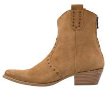 Cowboy-/ Bikerstiefelette - light brown