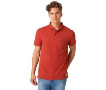 REGULAR FIT Poloshirt burned red slate