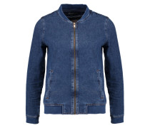 LIV - Bomberjacke - dark indigo retro stretch