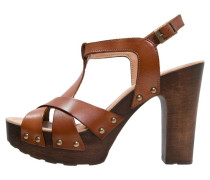 NOVACO High Heel Sandaletten tin roble