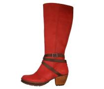 OSLO AMARANTE Stiefel red
