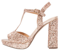 MISSY - Plateausandalette - rose gold
