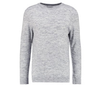 DAVID Strickpullover clear cream melange