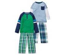 2 PACK SET Pyjama green
