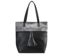 Handtasche black/silver