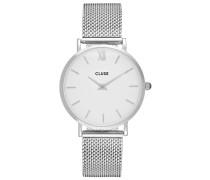MINUIT - Uhr - silver-coloured/white
