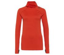 TECHFIT HEAT Langarmshirt bold orange